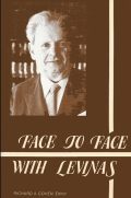 Face to Face with Levinas Cover