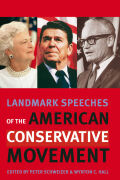 Landmark Speeches of the American Conservative Movement Cover