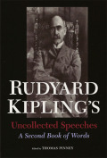Rudyard Kipling's Uncollected Speeches Cover