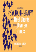 Psychotherapy with Deaf Clients from Diverse Groups cover