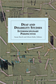 Deaf and Disability Studies