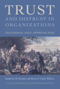 Trust and Distrust In Organizations Cover