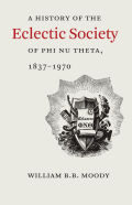 A History of The Eclectic Society of Phi Nu Theta, 1837-1970 Cover