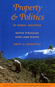 Property and Politics in Sabah, Malaysia