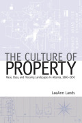 Culture of Property Cover