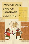 Implicit and Explicit Language Learning Cover