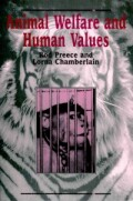 Animal Welfare and Human Values cover