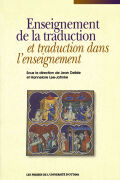 Enseignement de la traduction et traduction dans l'enseignement Cover