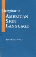 Metaphor in American Sign Language Cover