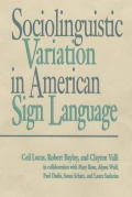 Sociolinguistic Variation in American Sign Language cover