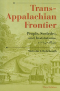 Trans-Appalachian Frontier, Third Edition Cover