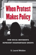 When Protest Makes Policy Cover