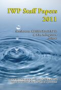 Institute of Water Policy Staff Papers 2011 Cover
