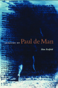 Legacies of Paul de Man Cover