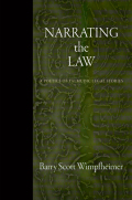 Narrating the Law: A Poetics of Talmudic Legal Stories