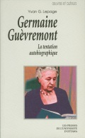 Germaine Guèvremont Cover