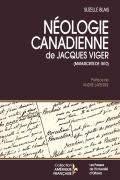 Néologie canadienne de Jacques Viger Cover