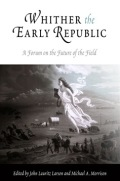 Whither the Early Republic cover