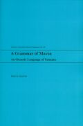 A Grammar of Mavea Cover