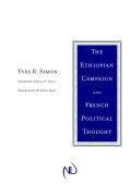 The Ethiopian Campaign and French Political Thought Cover