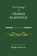The Writings of Charles De Koninck cover