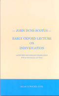 Early Oxford Lecture on Individuation