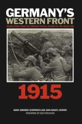 Germany's Western Front: Translations from the German Official History of the Great War, 1915