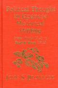 Political Thought in Japanese Historical Writing cover