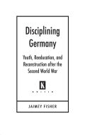 Disciplining Germany Cover