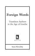 Foreign Words Cover