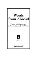 Words from Abroad Cover