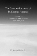 The Creative Retrieval of Saint Thomas Aquinas Cover