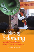 Riddles of Belonging Cover