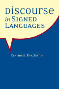 Discourse in Signed Languages Cover