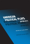 American Political Plays after 9/11 Cover