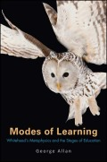 Modes of Learning Cover