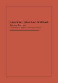 American Indian Law Deskbook, Fourth Edition Cover