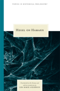 Hegel on Hamann Cover