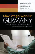 Low-Wage Work in Germany