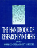 The Handbook of Research Synthesis Cover