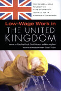 Low-Wage Work in the United Kingdom cover