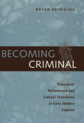 Becoming Criminal Cover
