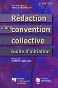 Rédaction d'une convention collective Cover