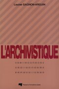 L'archivistique Cover
