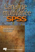 L'analyse multivariée avec SPSS Cover