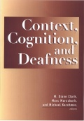 Context,  Cognition, and Deafness Cover
