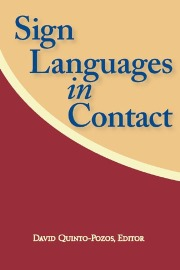 Sign Languages in Contact