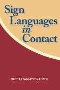 Sign Languages in Contact Cover