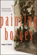 Painting Borges Cover
