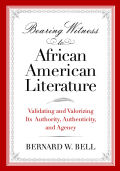 Bearing Witness to African American Literature Cover
